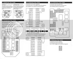 2003 Mercedes Fuse Box  Wiring Diagram Paper