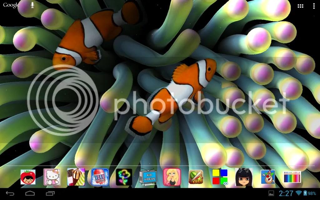 3d Fish Wallpaper Live Awesome 3d Aquarium Live Wallpaper Android Forums At