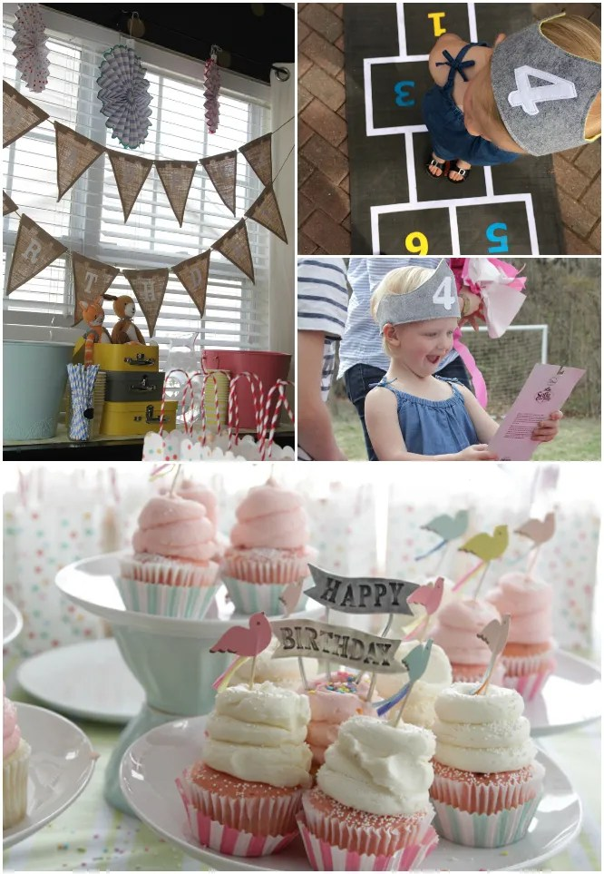 Hazel Turns 4 - Little Girls Birthday Party 5