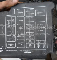 1995 240sx fuse box wiring diagram mega 1995 240sx fuse box label [ 1024 x 768 Pixel ]