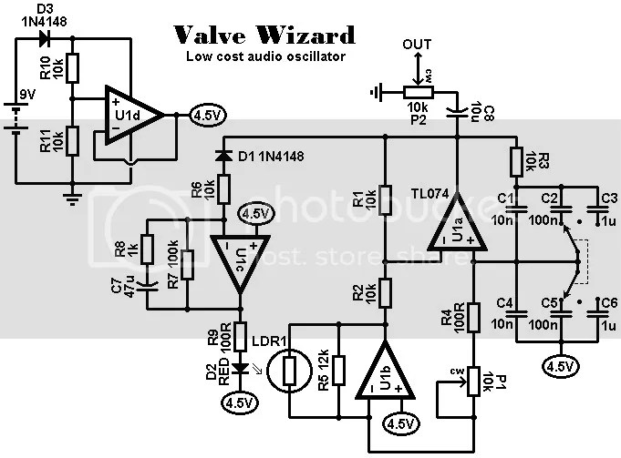Mini DIY signal generator