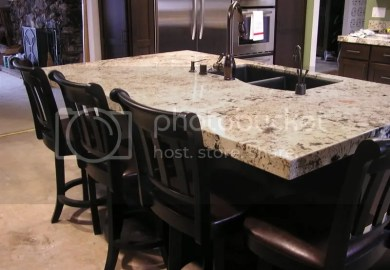 Kitchen Island Granite Top Overhang