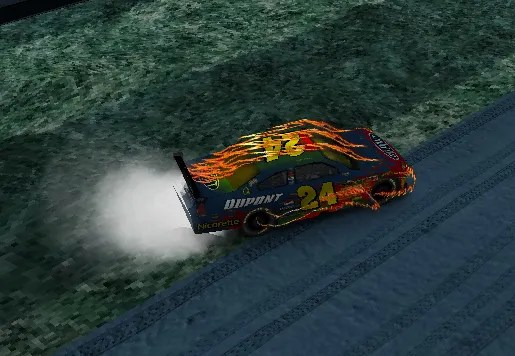 AS3 Nascar Game By mr  doob – AS3 Flash Library Mashup