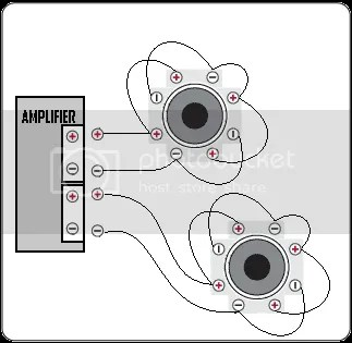 bridged mono wiring diagram fog light no relay dual voice coil speakers on single | get free image about