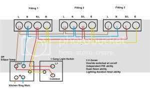 Multiple Dusk Dawn Pir Security Lights Wiring  Question