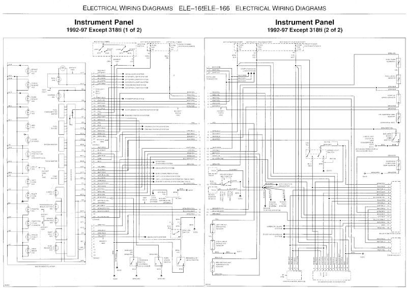 bmw e36 18 button obc wiring diagram