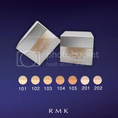 RMK Creamy Foundation N moisturised for flawless, supple and glowing skin