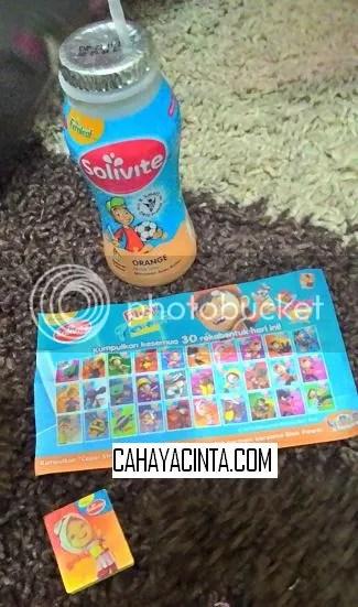 Beli barang akan dapat macam-macam gift uh...itu yang budak-budak suka letak pula watak kartun heee..