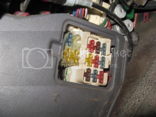 small resolution of 1990 toyota pickup fuse box