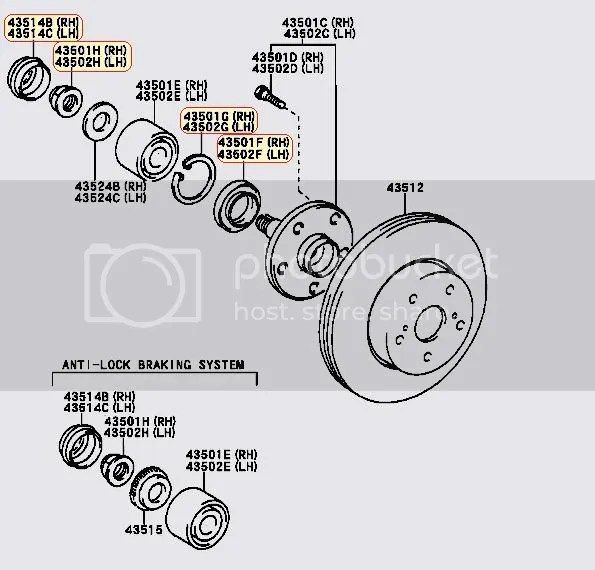 Lexus Wheel Hub Diagram, Lexus, Free Engine Image For User