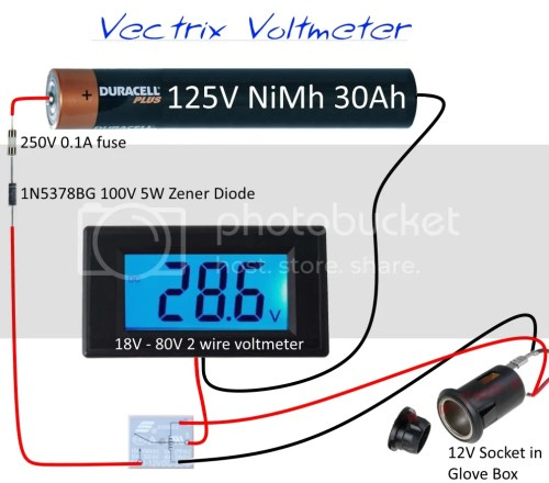 small resolution of vintage motorcycle wiring diagrams additional voltmeter questions v is for voltage electric vehicle forum basic ignition wiring diagram voltmeter circuit