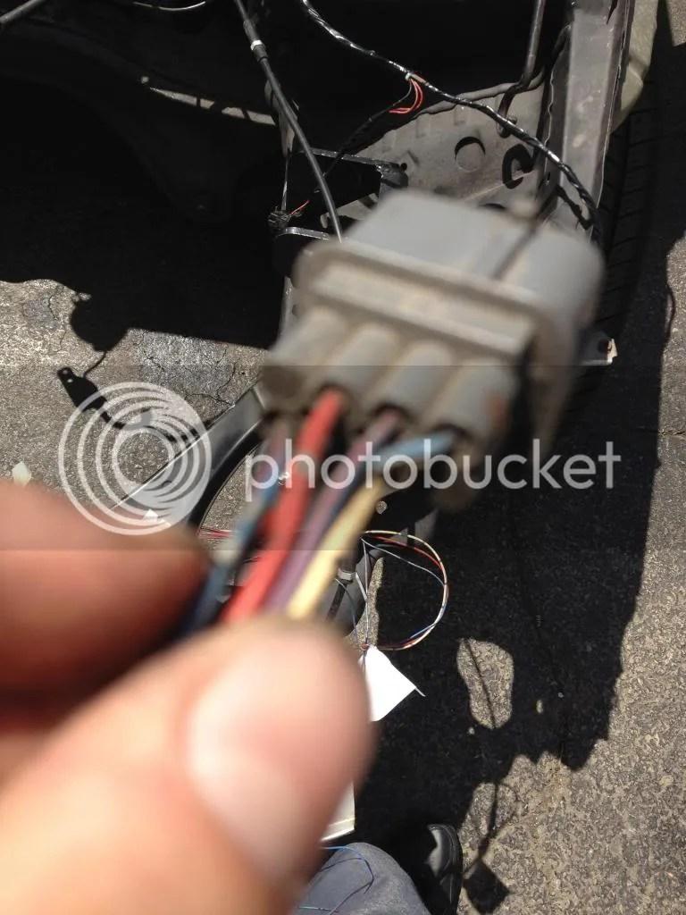 medium resolution of honda headlight plug wiring harness
