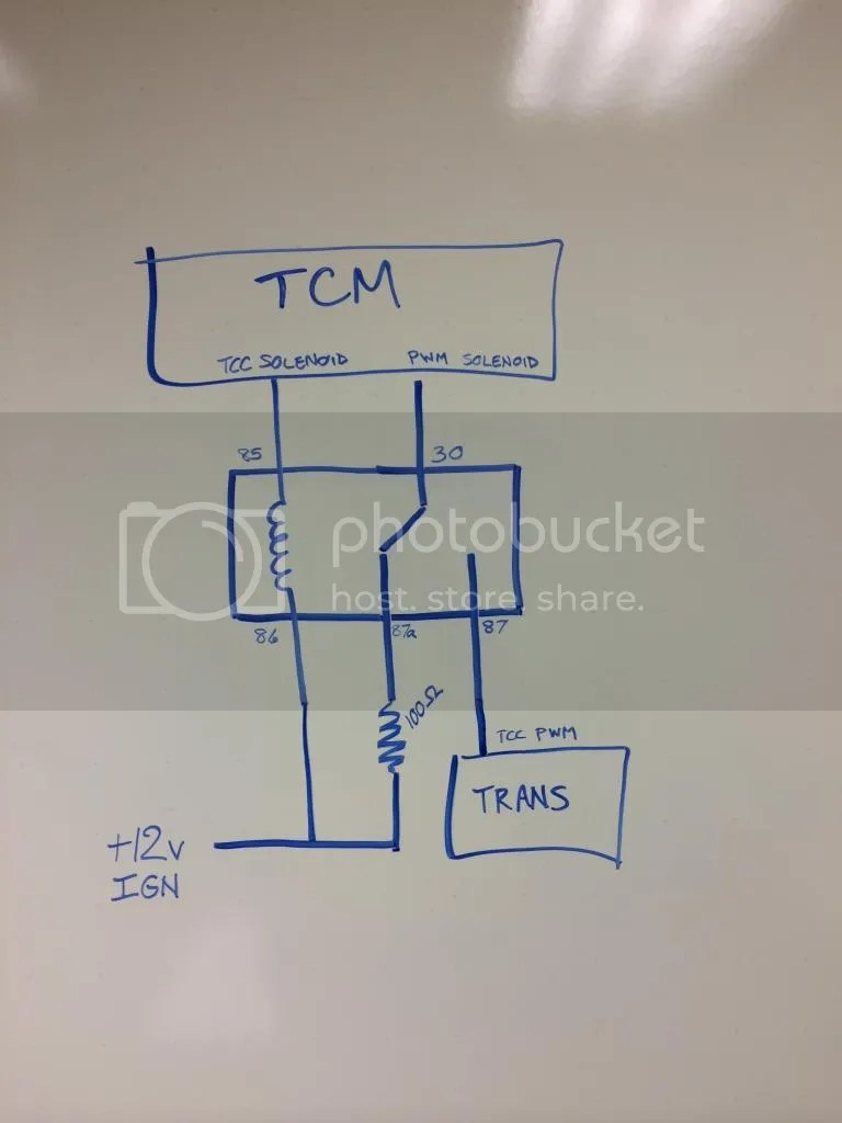 hight resolution of don t disable the tcc solenoid otherwise the tcc will not function properly with the 4l60e os on a 4l80e