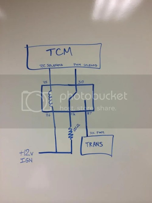 small resolution of don t disable the tcc solenoid otherwise the tcc will not function properly with the 4l60e os on a 4l80e