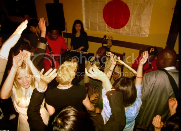 "JAPAN BENEFIT CONCERT Tues, May 17th AT ""1492 Food"" Thank you !everybody who came to our show !!! We raised $780 for RED CROSS JAPAN!!!!"