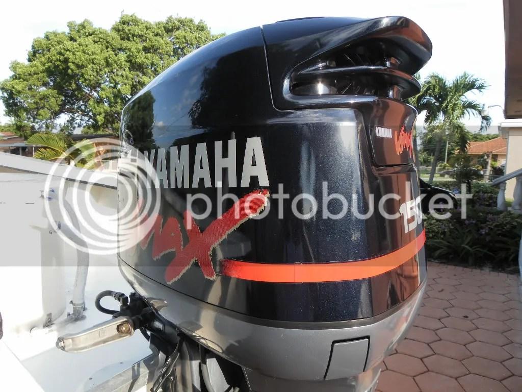 2004 YAMAHA 150HP VMAX OUTBOARD V150TLRC 115 130 150 175