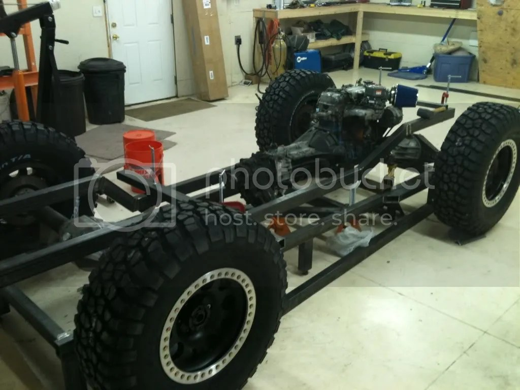V Twin Buggy Build