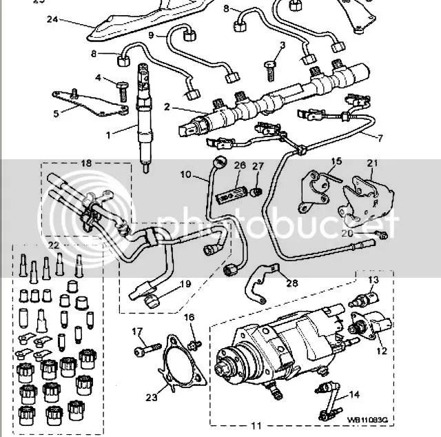 Leak from high pressure diesel Fuel pumppipe to fuel rail