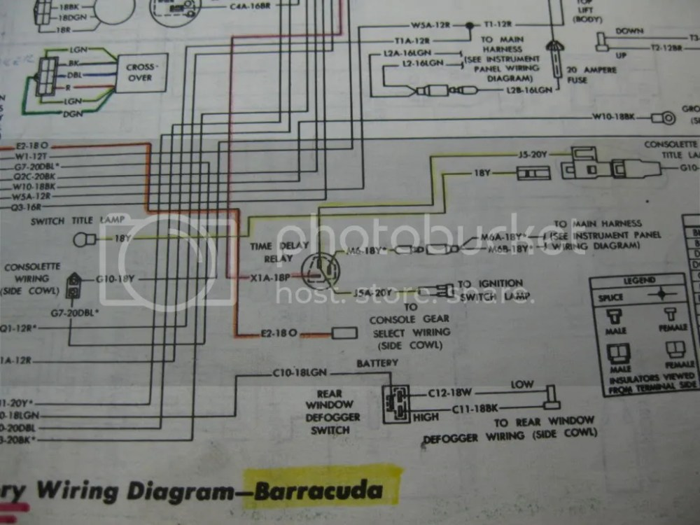 medium resolution of 1971 cuda wiring diagram wiring diagram toolbox 1970 cuda dash wiring diagram