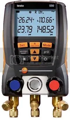 Testo 550 Refrigeration System Analyzer Is Here | InstruMetriX.Com