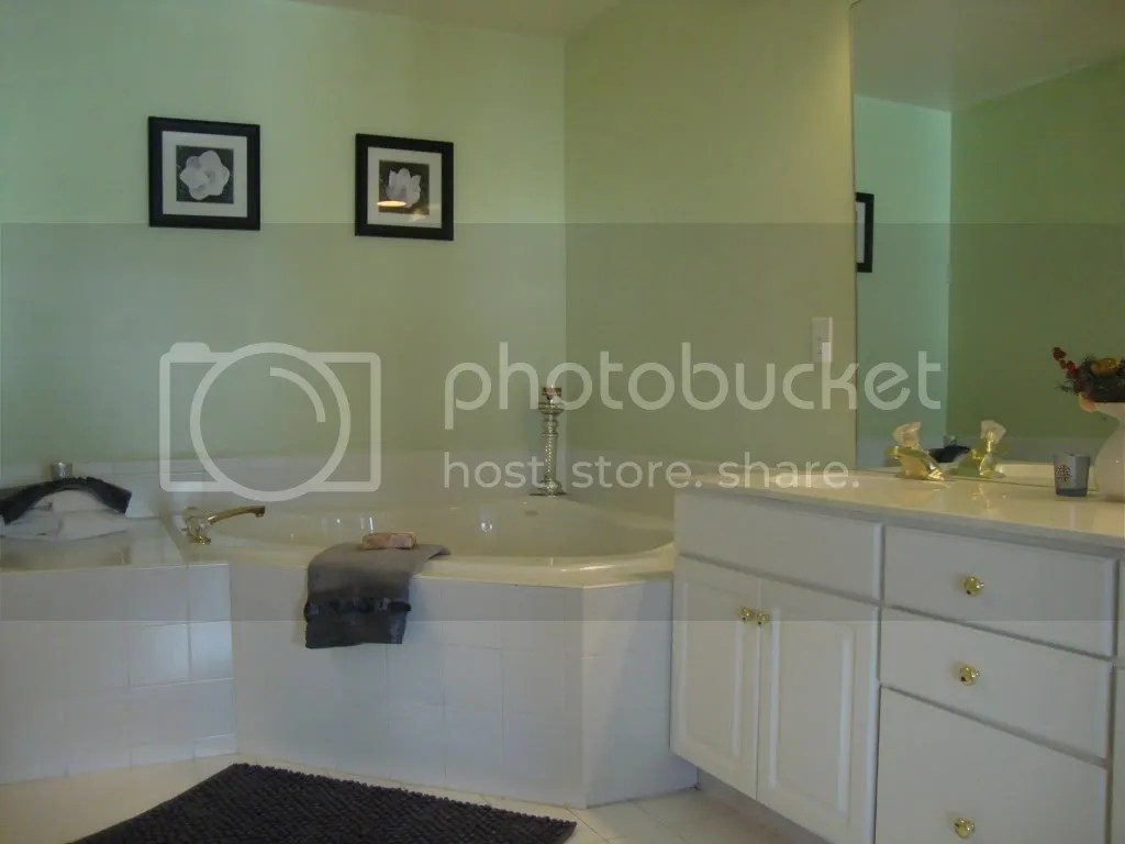 Master Bath Staging