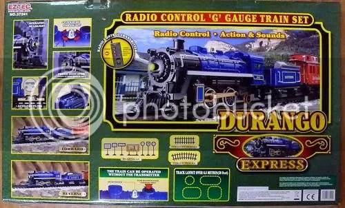 Train Set Durango Eztec Express