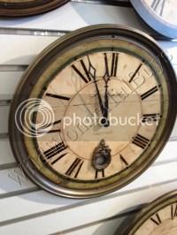 "Ballard Designs Sheffield Green 18"" Gallery Wall Clock ..."