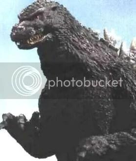 Godzilla...minus KY.