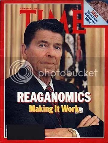Reagan on TIME