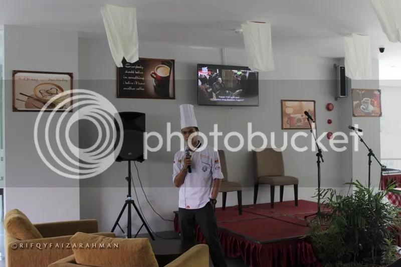 Chef Andiko, Executive Chef Hotel Horison Ultima Malang