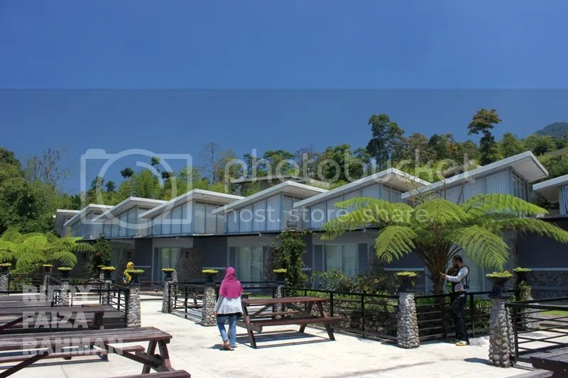 Deretan family room dalam area Pondok Wisata, Umbul Sidomukti