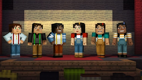 Minecraft Story Mode The Complete Adventure XBOX360-COMPLEX