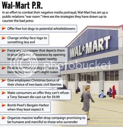 Wal-Mart PR