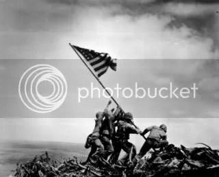 Joe Rosenthal_Original Iwo Jima Flag Raising image
