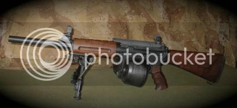 fixed ar 15 wood