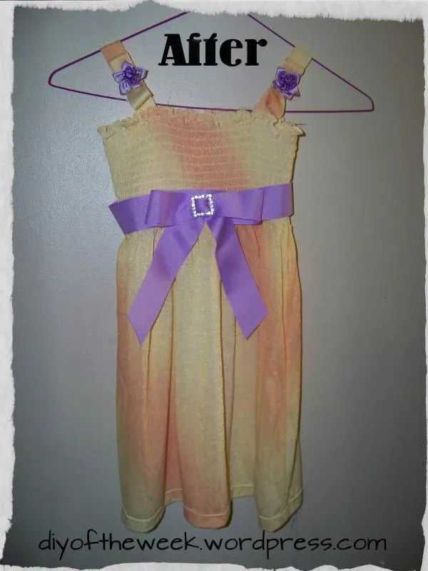 DIY Easter Dress
