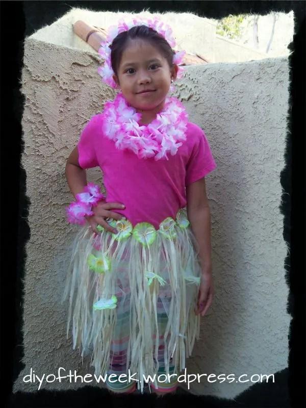 redesigned hula skirt