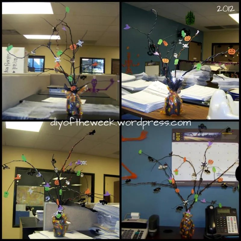 2012 Halloween Trees