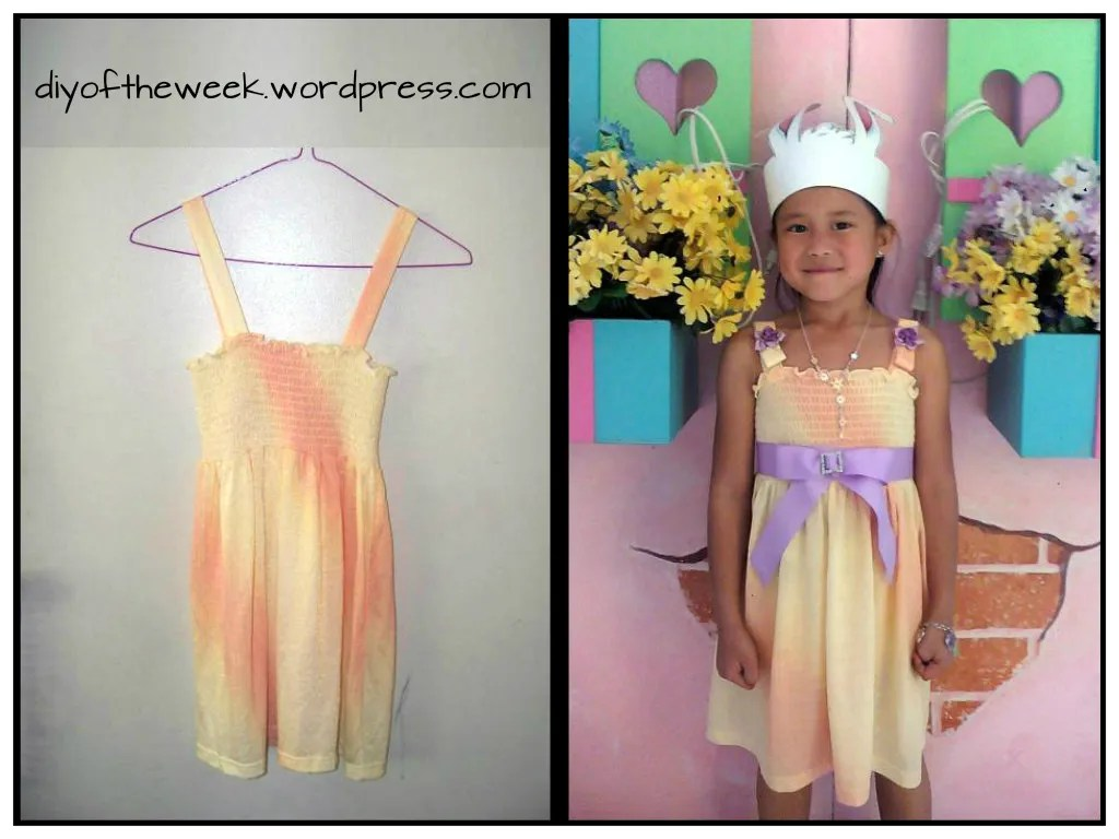Easter dress refashion