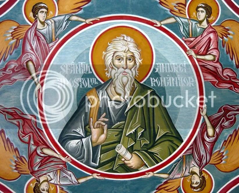Sf. Ap. Andrei - numit si apostolul romanilor