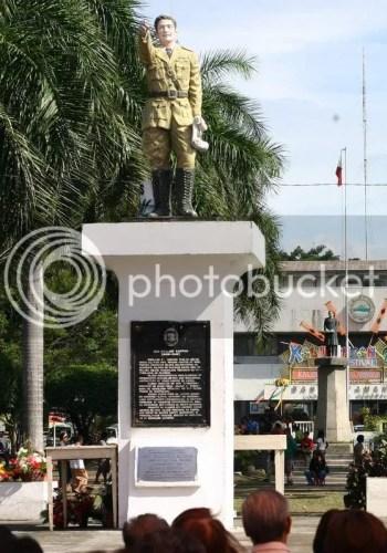 Gen. Santos Monument now