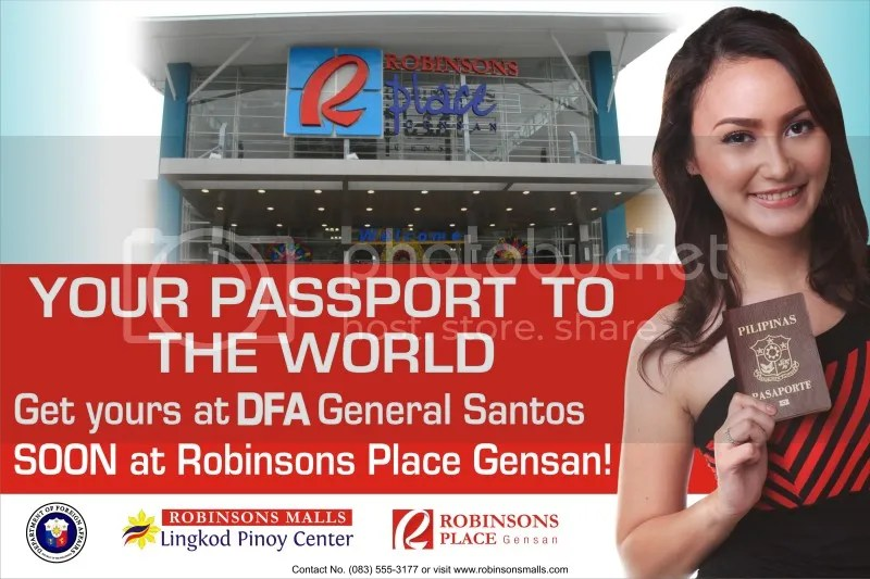 DFA Consular Office opens Sept 3 at Robinsons Place GenSan