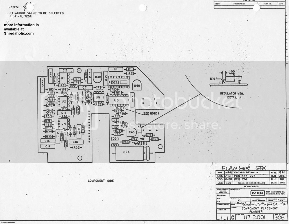 medium resolution of mxr m 117 flanger factory layout diagram click the thumbnail to enlarge the image