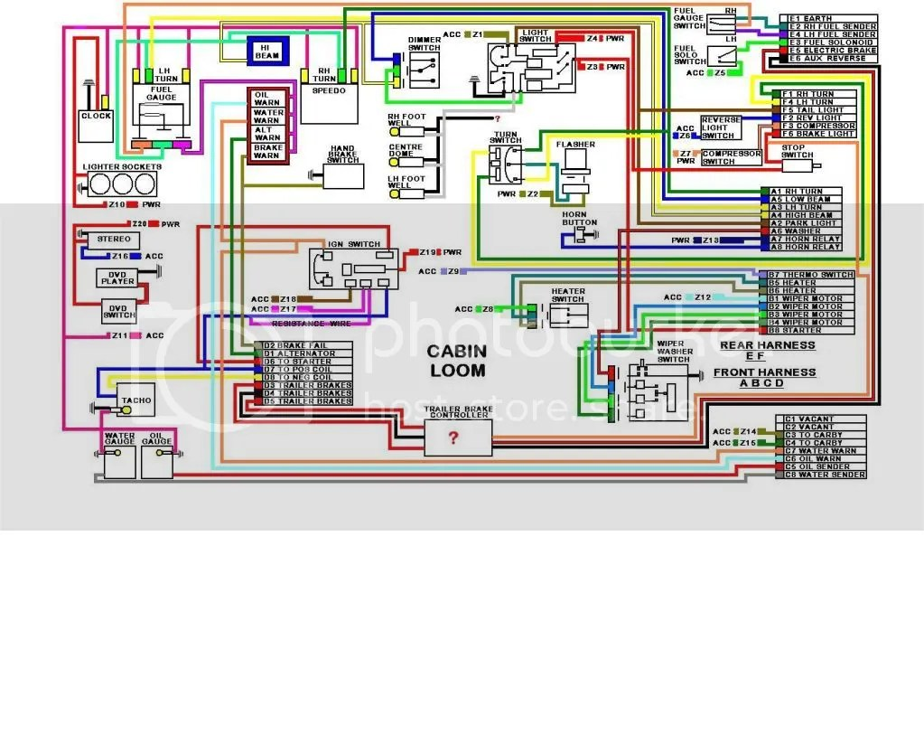 wb wiring diagram fmea boundary example hq holden library i completely rewired mine too feel your pain lol made sure drew