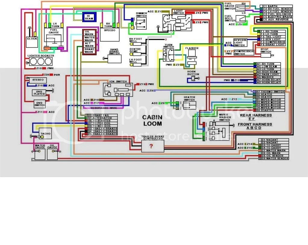 hz holden ignition switch wiring diagram 6 ohm subwoofer diagrams hq indicator