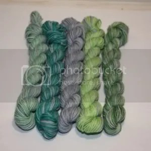 mini skein set - take five lavender field