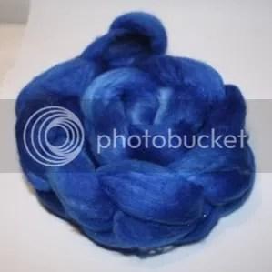 SparkLynne Blue Fibre