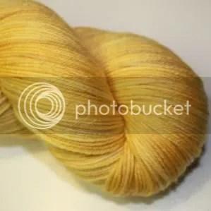 semi solid gold sock yarn
