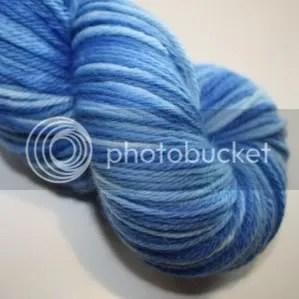 DK merino - blue