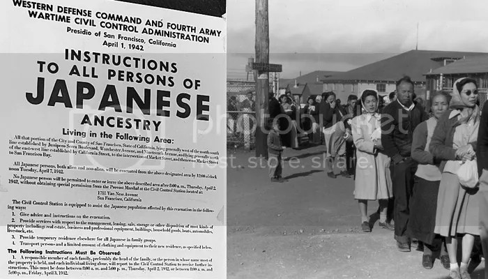 Reject your political party: Japanese internment